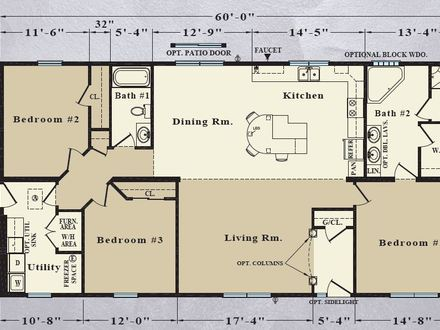 30 Feet Tall People 30 Feet Wide Ranch House Plans