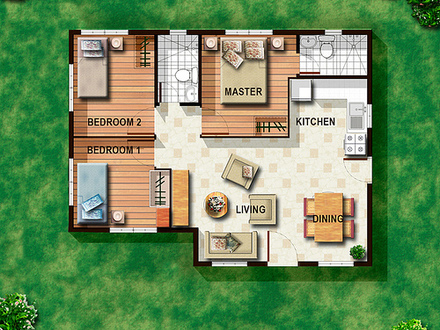 House floor plan philippines bungalow house design plans for Small house plans philippines