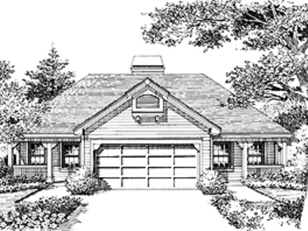Cost effective home floor plans reduce cost cost for Building duplex homes cost
