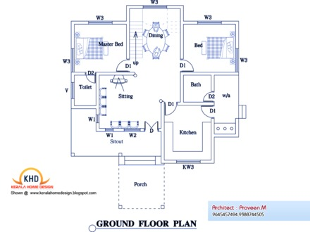 New House Plans for 2014 New Kerala House Plans