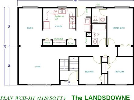 1000 Sq FT Floor Plans House Plans Under 1000 Sq FT