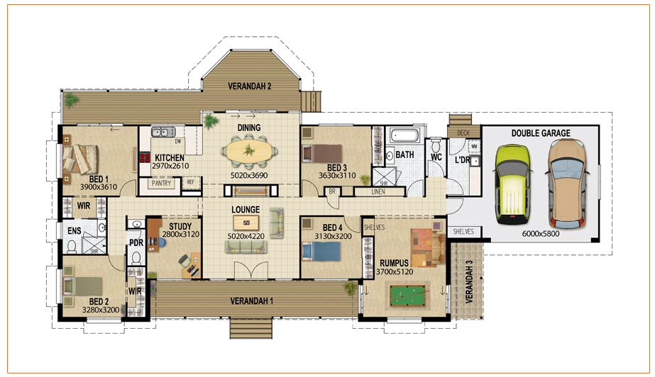 Building Design House Plans Modern Two-Story House Plans