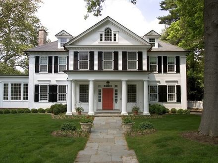 Colonial Style Home Ranch- Style Home