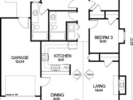 Corner House Floor Plans Egress Stairs Floor Plan