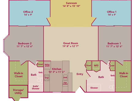 Cottage House Plans One Floor Cottage Floor Plan