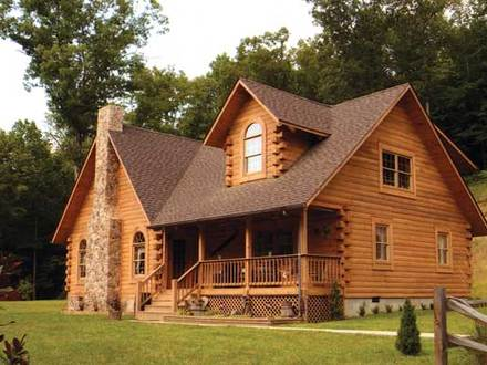 Modern contemporary style home house contemporary modern for Country home kits