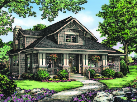 Don gardner house plans with walkout basement donald for Historic craftsman house plans