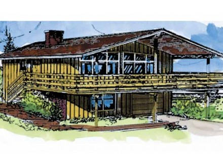 Eplans Craftsman House Plan Eplans Chalet House Plan Three Bedroom Chalet 2076 Square Feet and