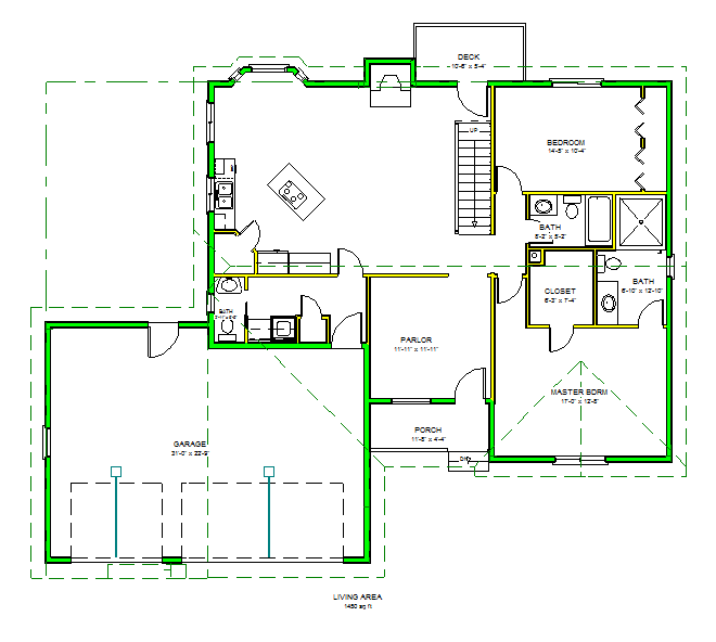 Floor plan dwg file free download cad drawing of floor for Sketch house plans free