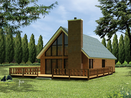 Frame House Plans Timber House Plans with Basement