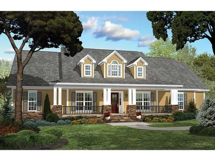 French Country Estate Home Plans Country Home House Plans