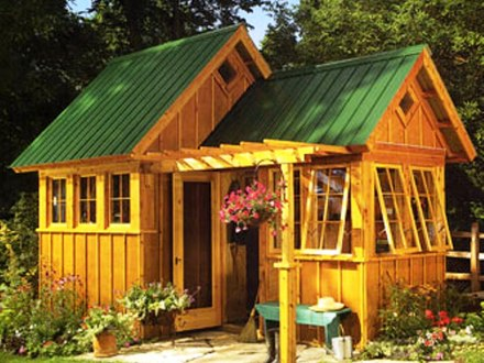 Garden Shed Makeovers Garden Shed Ideas