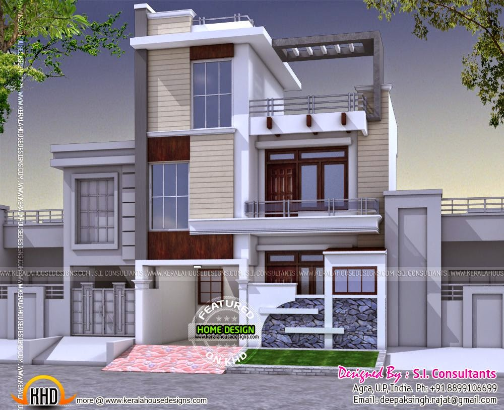 Indian modern house designs european modern house design for Euro design homes