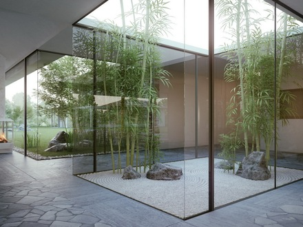 Japanese Indoor Zen Garden Design Small Japanese Garden Plants