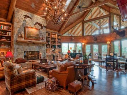 Log Cabin Interior Design Ideas Small Log Cabin Interiors
