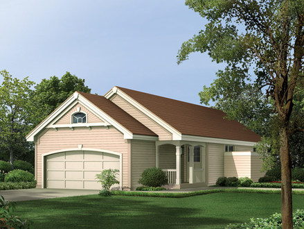 Narrow House Plans with Front Garage Narrow House Plans with Garage