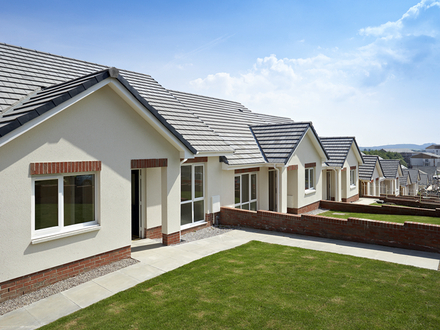 New One Level Homes New Bungalow Homes