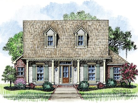 Old Acadian Style House Plans Acadian Cottage House Plans