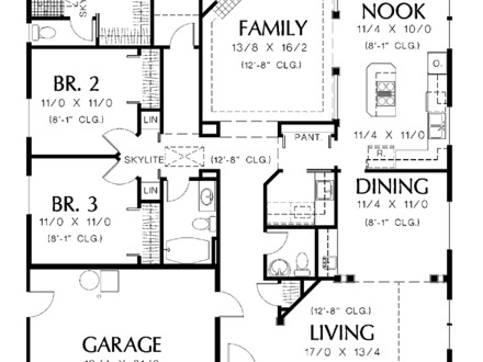 One Bedroom House Simple Plans One Bedroom House Interior