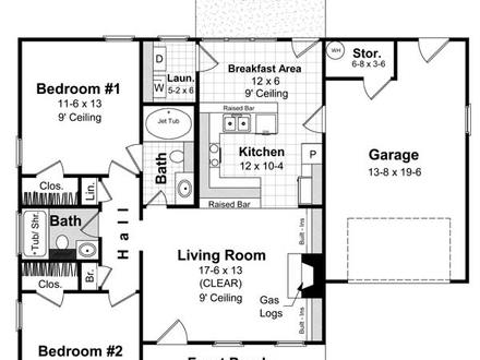 Simple One Floor House Plans Simple House Plans Designs