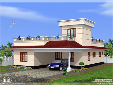 Single Floor House Elevation Kerala Single Floor House Designs
