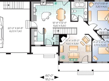 Single Level House Floor Plans Single Floor House Plans Large Rooms