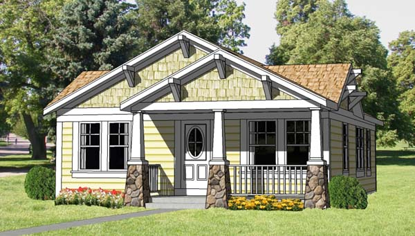 Small Bungalow Style Homes Small Craftsman Style Home Plans