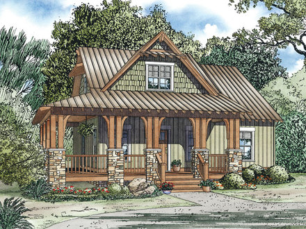 Small Country Home House Plans Small Homes and Cottages