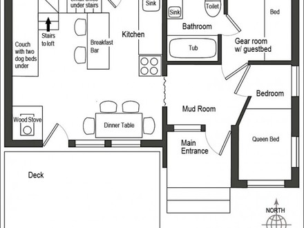 Small House Plans Under 1000 Sq FT Small Cottage House Plans