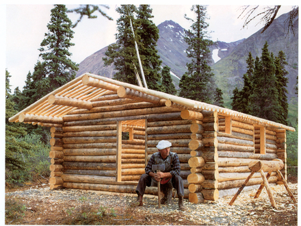Small Log Cabin Building Cabin Construction