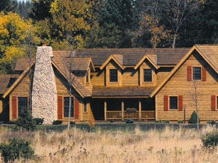 Small Log Cabin Home Designs Log Cabin Home Designs Floor Plans