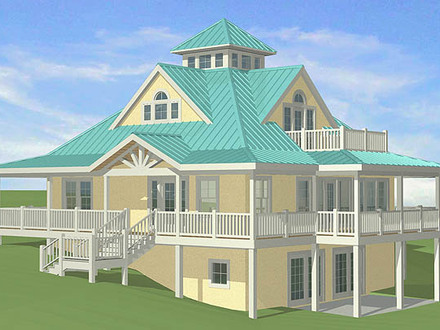 SOUTHERN COTTAGES HOUSE PLANS: January 2011 Cottage House Plans Louisiana
