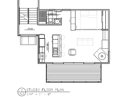 Studio Home Plans Modern Studio House Plans