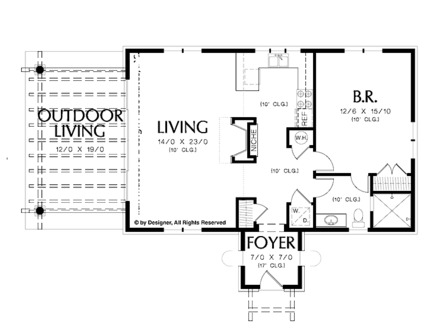 2 bedroom floor plans 30x30 2 bedroom house floor plans 3d for 30x30 floor plans