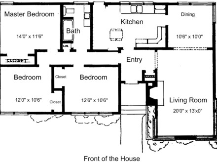 3 Bedroom House Plans Free Luxury 3 Bedroom House Plans
