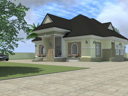 4 Bedroom House Plans Nigeria 4-Bedroom Ranch House Plans