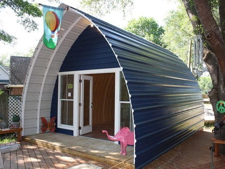 Arched Cabins How Big Are 24\' Arched Cabins