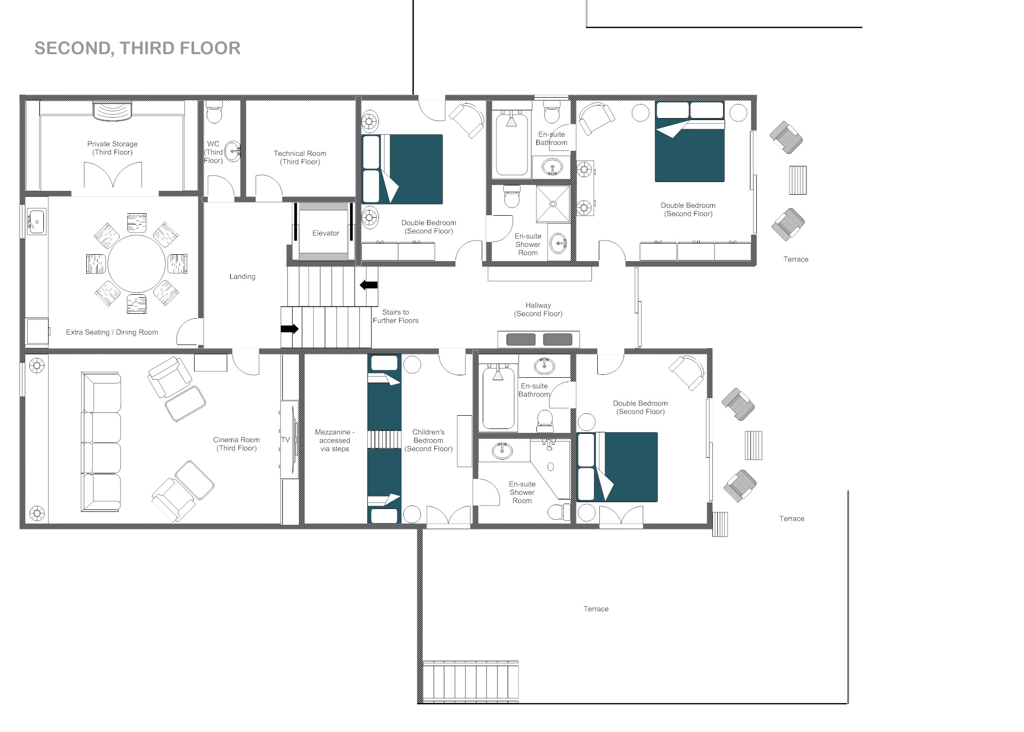 Aspen ski resort ski resorts ski chalet plans for Aspen homes floor plans