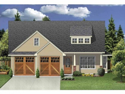 Architectural designs house plans mountain house plans for Award winning house plans 2016