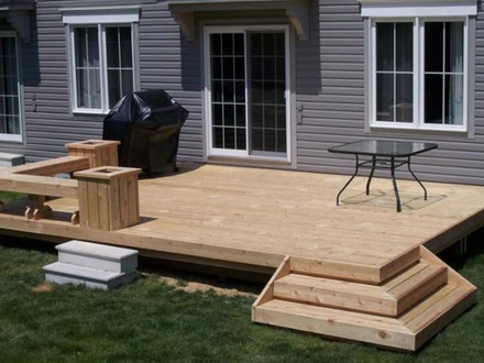 Back Deck Designs Deck Design Ideas