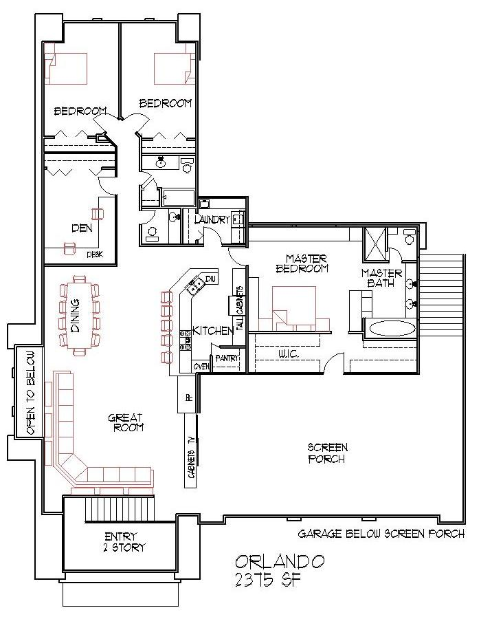 Blueprints 4 bedroom double wide small 4 bedroom house for Double wide floor plans with basement