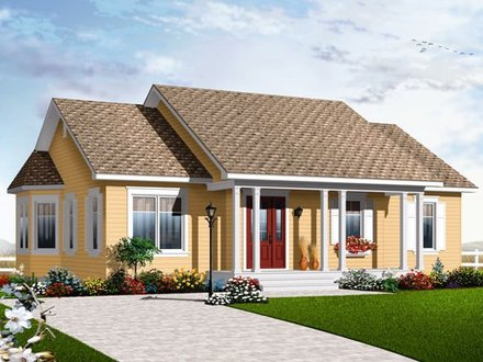 Bungalow House Plan Designs Single Storey Bungalow House Plans