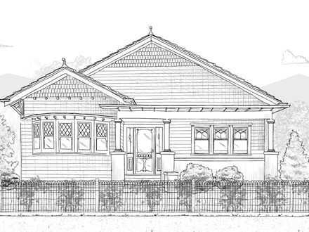 Bungalow House Plans with Porches California Bungalow House Plans
