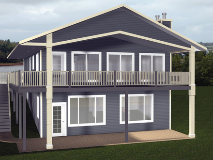 Cabin House Plans with Walkout Basement Small Cabin House Plans