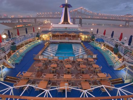 Carnival Cruise Ships Deck Plans Cruise Ship Upper Deck