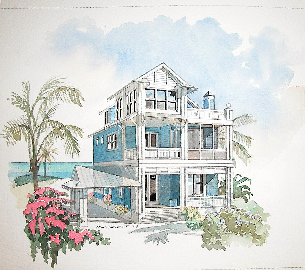 Coastal home design plans beach house plans on pilings for Beach cottage plans on pilings