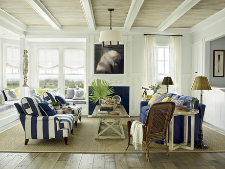 Coastal Living Beach House Style Coastal Style Living Rooms