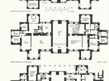 Country Houses in England English Country House Floor Plans