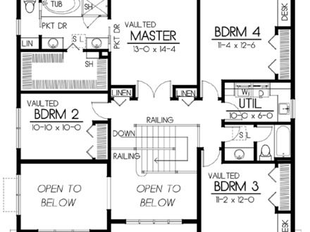 Craftsman Bungalow House Floor Plans Craftsman Bungalow House Floor Plans