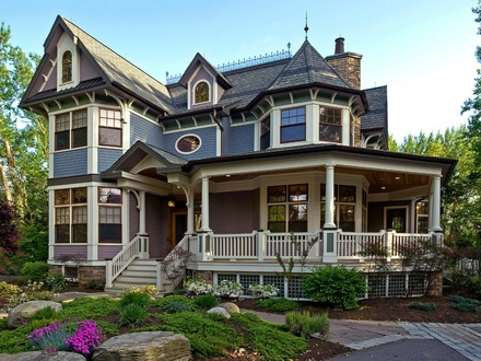 Craftsman Style Home Interiors Victorian Style Home Exterior